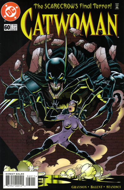Cover for Catwoman (DC, 1993 series) #60