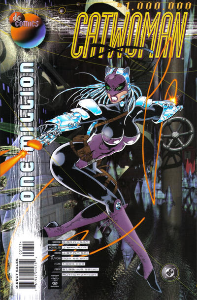 Cover for Catwoman (DC, 1993 series) #1,000,000