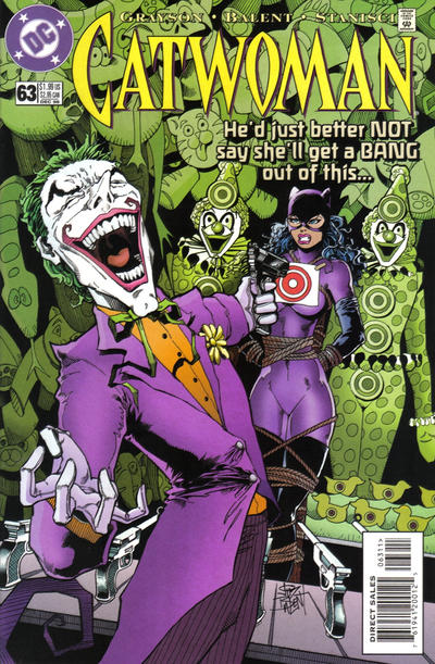 Cover for Catwoman (DC, 1993 series) #63