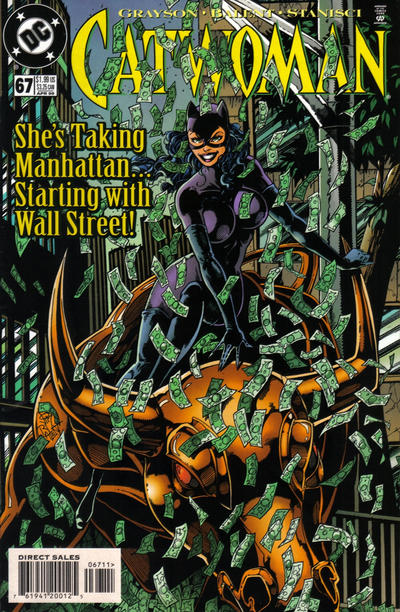 Cover for Catwoman (DC, 1993 series) #67