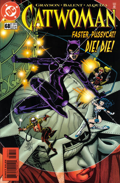 Cover for Catwoman (DC, 1993 series) #68