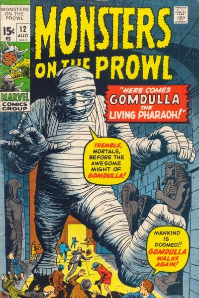 Cover for Monsters on the Prowl (Marvel, 1971 series) #12