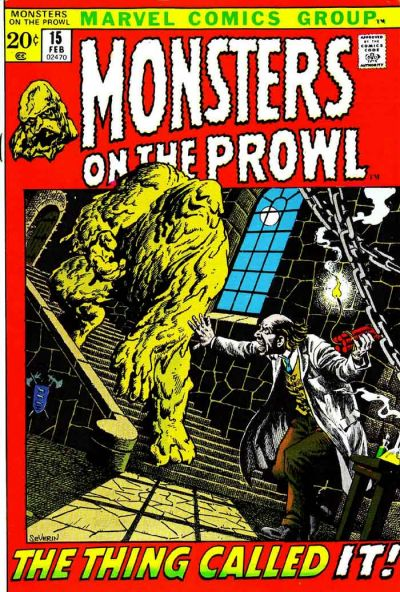 Cover for Monsters on the Prowl (Marvel, 1971 series) #15