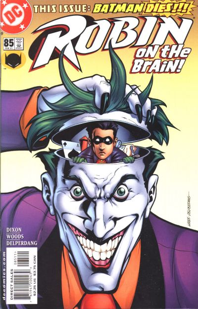 Cover for Robin (DC, 1993 series) #85