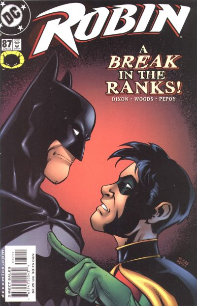 Cover for Robin (DC, 1993 series) #87