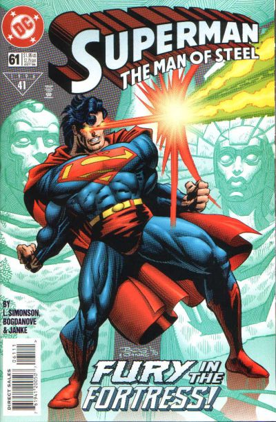 Cover for Superman: The Man of Steel (DC, 1991 series) #61