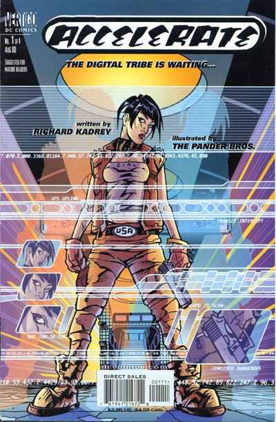 Cover for Accelerate (DC, 2000 series) #1