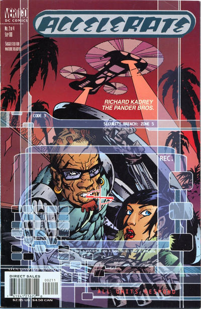 Cover for Accelerate (DC, 2000 series) #2