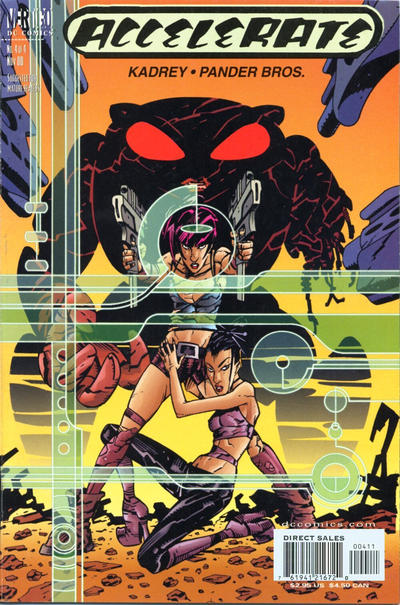 Cover for Accelerate (DC, 2000 series) #4