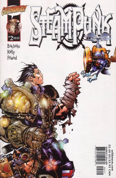 Cover for Steampunk (DC, 2000 series) #2