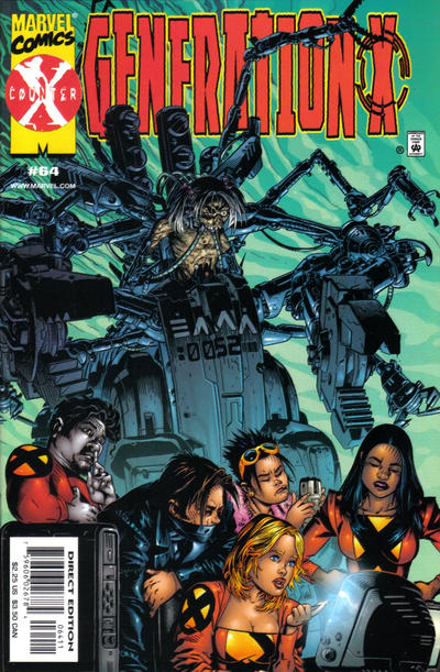 Cover for Generation X (Marvel, 1994 series) #64 [Direct Edition]
