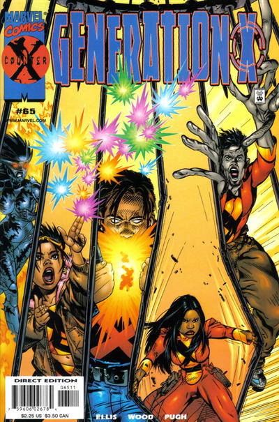 Cover for Generation X (Marvel, 1994 series) #65 [Direct Edition]