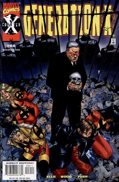 Cover for Generation X (Marvel, 1994 series) #66 [Direct Edition]
