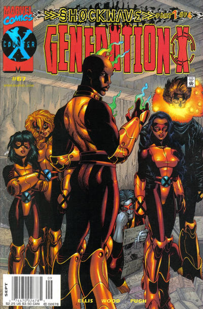Cover for Generation X (Marvel, 1994 series) #67 [Direct Edition]