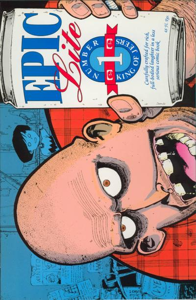 Cover for Epic Lite (Marvel, 1991 series) #1