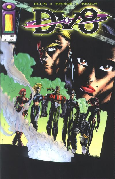 Cover for DV8 (Image, 1996 series) #1 [Wrath]