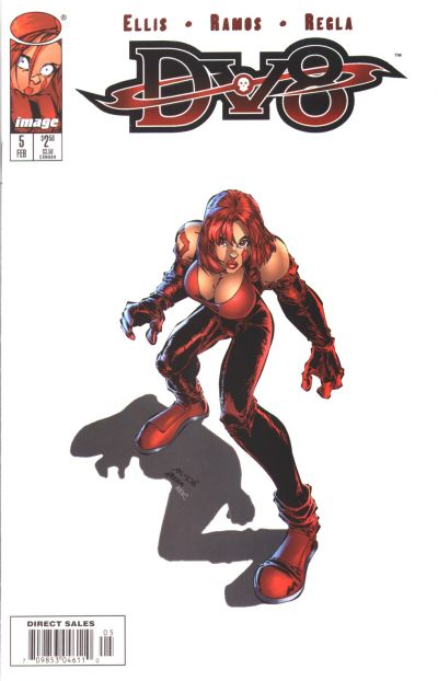 Cover for DV8 (Image, 1996 series) #5
