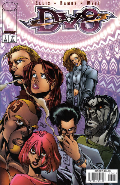 Cover for DV8 (Image, 1996 series) #6