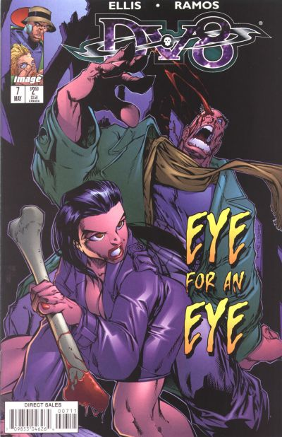 Cover for DV8 (Image, 1996 series) #7
