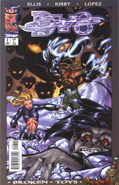 Cover for DV8 (Image, 1996 series) #8