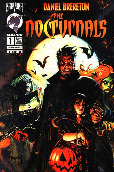 Cover for The Nocturnals (Malibu, 1995 series) #1