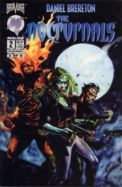 Cover for The Nocturnals (Malibu, 1995 series) #2
