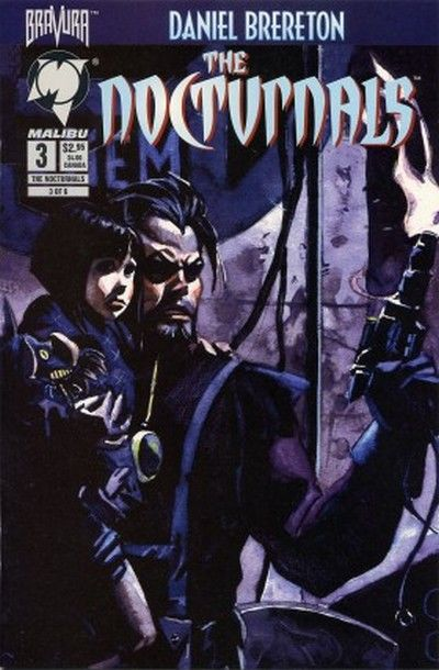Cover for The Nocturnals (Malibu, 1995 series) #3