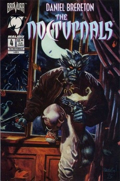 Cover for The Nocturnals (Malibu, 1995 series) #4