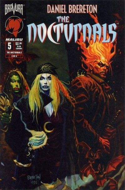 Cover for The Nocturnals (Malibu, 1995 series) #5