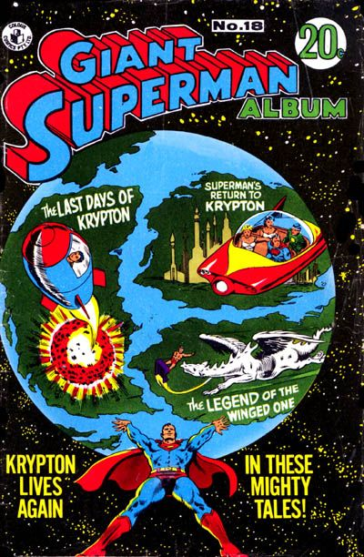 Cover for Giant Superman Album (K. G. Murray, 1963 ? series) #18