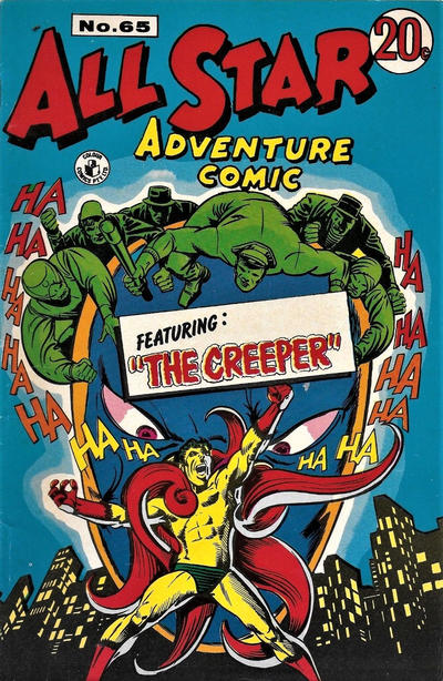 Cover for All Star Adventure Comic (K. G. Murray, 1959 series) #65
