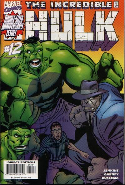 Cover for Incredible Hulk (Marvel, 2000 series) #12