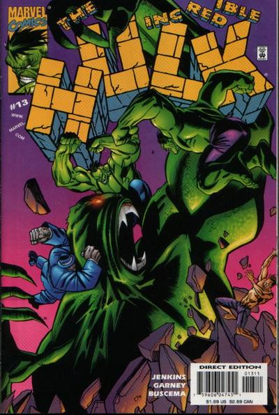 Cover for Incredible Hulk (Marvel, 2000 series) #13