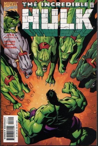 Cover for Incredible Hulk (Marvel, 2000 series) #14