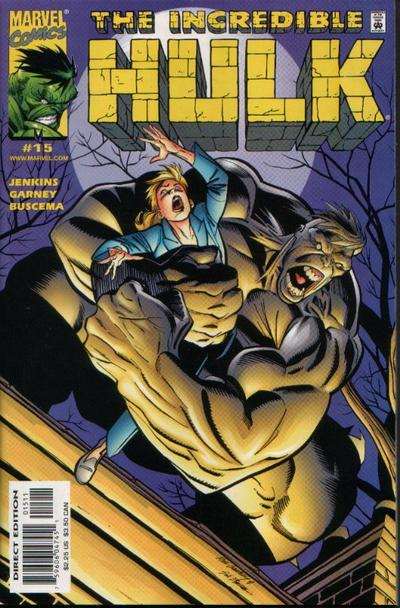 Cover for Incredible Hulk (Marvel, 2000 series) #15
