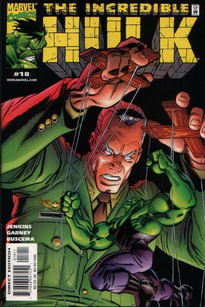 Cover for Incredible Hulk (Marvel, 2000 series) #18