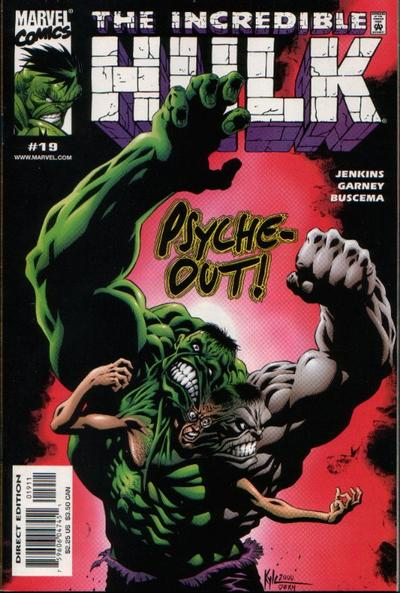 Cover for Incredible Hulk (Marvel, 2000 series) #19