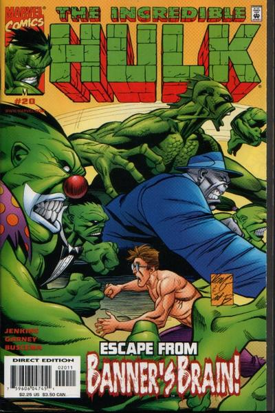 Cover for Incredible Hulk (Marvel, 2000 series) #20