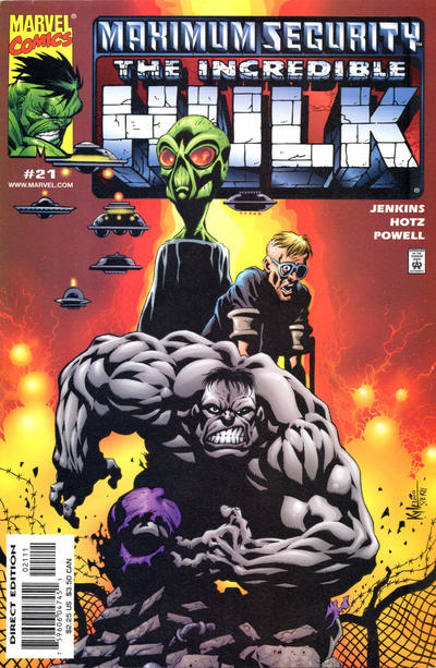 Cover for Incredible Hulk (Marvel, 2000 series) #21