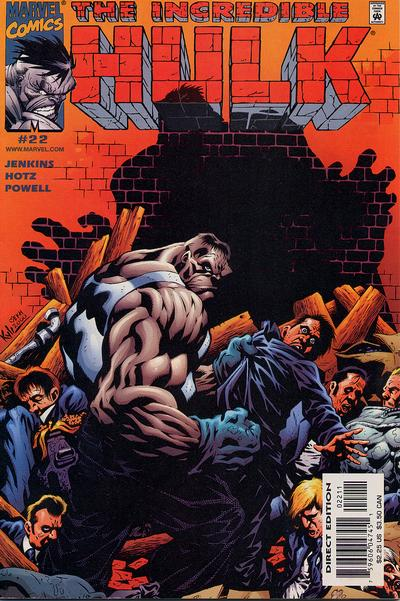 Cover for Incredible Hulk (Marvel, 2000 series) #22