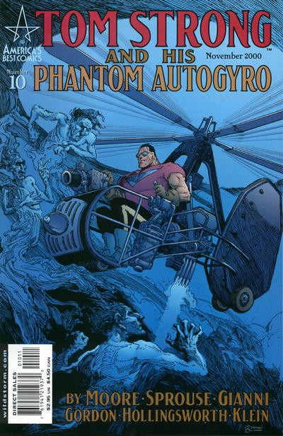 Cover for Tom Strong (DC, 1999 series) #10