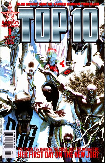 Cover for Top 10 (DC, 1999 series) #1