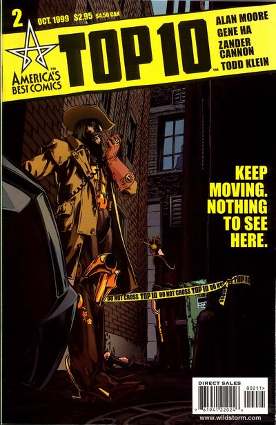 Cover for Top 10 (DC, 1999 series) #2