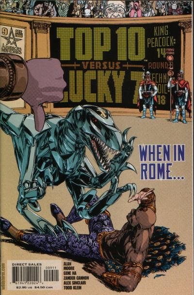 Cover for Top 10 (DC, 1999 series) #9