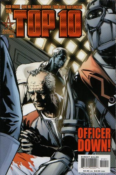 Cover for Top 10 (DC, 1999 series) #10