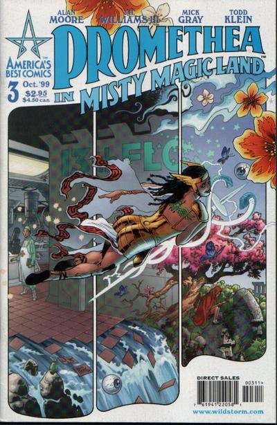 Cover for Promethea (DC, 1999 series) #3
