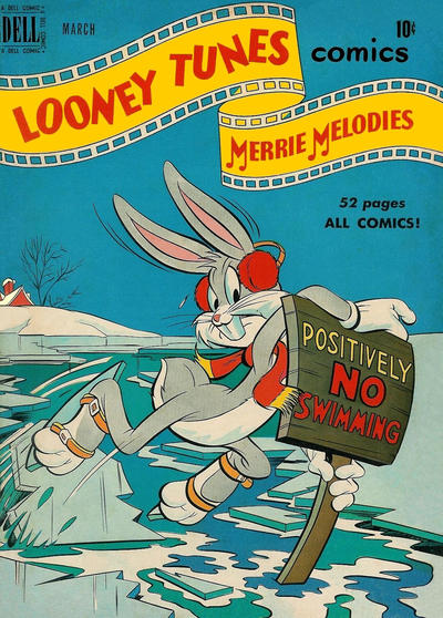 Cover for Looney Tunes and Merrie Melodies Comics (Dell, 1941 series) #101