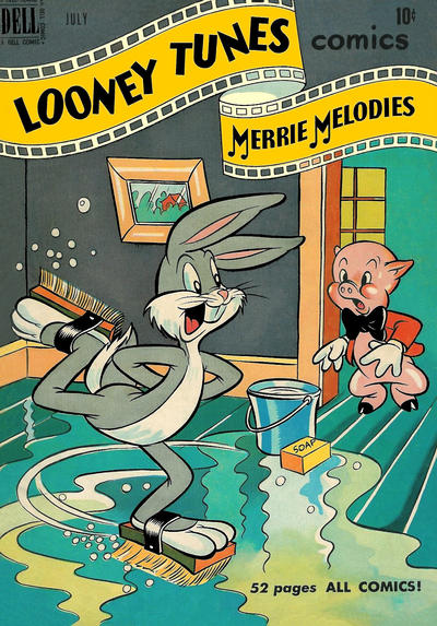 Cover for Looney Tunes and Merrie Melodies Comics (Dell, 1941 series) #105