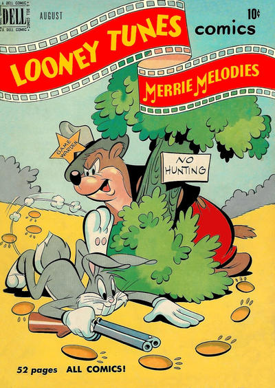 Cover for Looney Tunes and Merrie Melodies Comics (Dell, 1941 series) #106