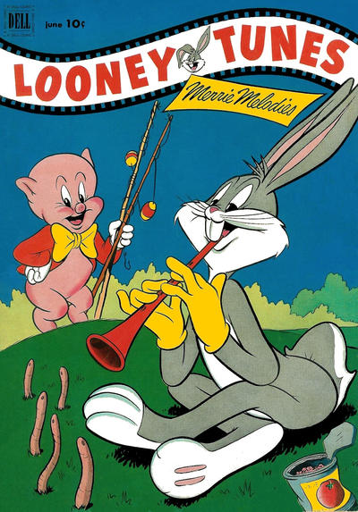 Cover for Looney Tunes and Merrie Melodies (Dell, 1950 series) #128